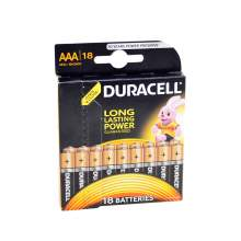 Baterie alcalina DURACELL AAA / R3 blister 18 bucati