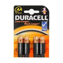 Baterie alcalina DURACELL Basic AA / R6 blister 4 bucati
