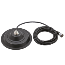 Suport magnetic negru Megawat 145 PL pentru antene radio
