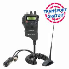 Kit Statie CB Midland Alan 52 DS 2018 + Antena PNI Extra 48 Precalibrata