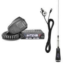 KIT Statie CB Avanti Supremo + Antena PNI Led 2000 + Suport PNI T941 cu cablu
