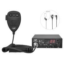 Statie radio CB PNI Escort HP 8001L ASQ reglabil, include casti cu microfon PNI HS81L