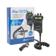 Statie CB Portabila Midland Alan 52 DS 2018, ASQ, ANL, NB