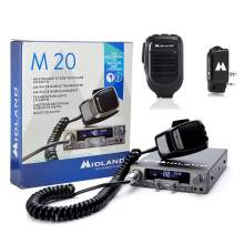 Kit Statie CB Midland M10 + Adaptor WA-DONGLE C1199 + Microfon bluetooh WA-MIKE C1263