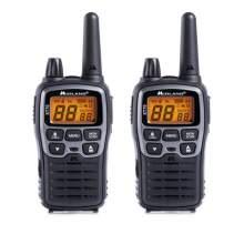 Statie Radio PMR (Walkie Talkie) Midland XT70, set 2 bc, culoare gri metalic