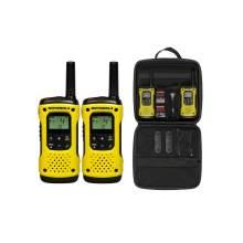 Statie Radio PMR portabila Motorola TLKR T92 H2O IP67 set cu 2 buc Galben
