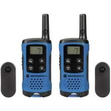 Statie Radio PMR portabila Motorola TLKR T41 set cu 2 buc Albastru