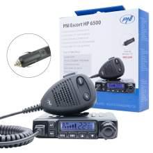 Statie radio CB PNI Escort HP 6500 AM-FM, 12V, ASQ, RF Gain, multistandard