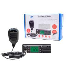 Statie Radio CB PNI Escort HP 9500, alimentare duala 12V-24V, dimensiune 1DIN, difuzor frontal