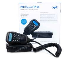 Statie CB PNI Escort HP 55 ASQ, afisaj, comenzi si difuzor pe microfon