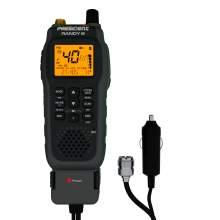 Statie Radio CB Portabila President RANDY III ASC, AM/FM, RB, Filtre Zgomot, Acumulator Inclus