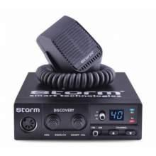 Statie Radio CB Storm Discovery III 2018, putere reglabila 4/8/15W