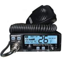 Statie Radio President Ronald 10/12m, putere comutabila 4-35W